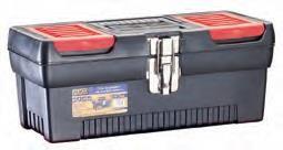 Caja de Plástico con Bandejas Extraibles