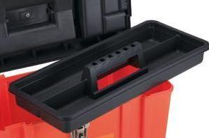 Caja de Plástico con Herramientas 33 piezas bandeja interior
