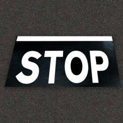 Alfombra Señal STOP