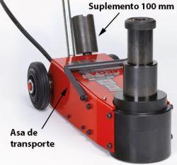 Gato Oleoneumático Portátil NP15-2B asa