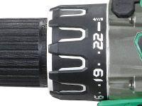 Taladro combinado a Batería de Litio DV36DA dial