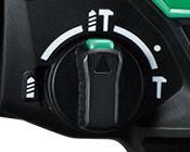 Martillo Combinado a Batería de Litio DH36DPA selector modo