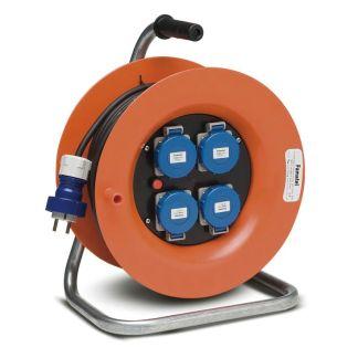 Enrollacables Industrial con Disyuntor 30m 3x1,5 H07RN-F IP67