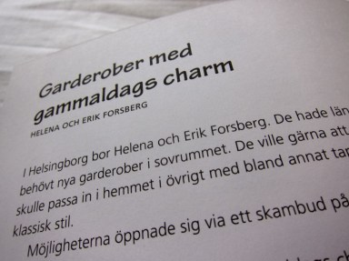 Garderober - Remake Ikea