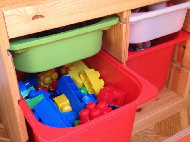 cómo ordenar los juguetes