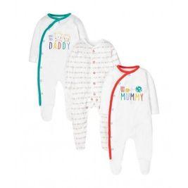 Pijamas para bebé de la web Mothercare
