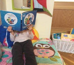 cómo organizar un rincón de lectura
