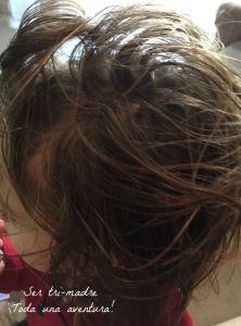vaselina en el pelo