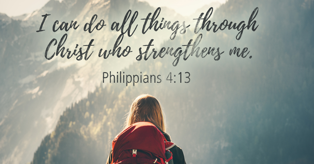 Christ Things You Can Cheerleading Jesus Through Strengthens You All Who Do