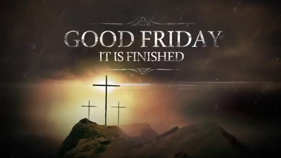 Good Friday Title Loop | Hyper Pixels Media | SermonSpice