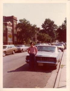Sawyer Ave 중앙교회 옆 Chicago, 1974