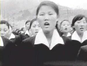 김주열군의 죽음에 항의 데모하는 마산여고생들, 1960년
