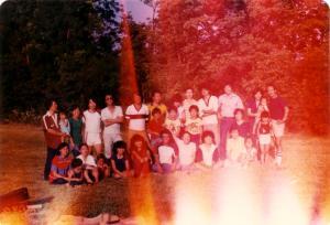 왕영수 신부님 송별 야유회, 1981년 Columbus, Ohio