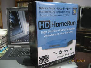 HDHomeRun network TV tuner by SiliconDust