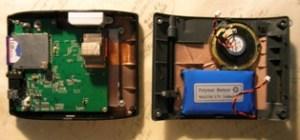 GPS' dead battery