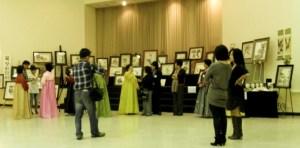 2011년 아틀란타 묵향회 회원전 개막