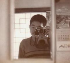 Petri camera로 찍은 자화상, 1966
