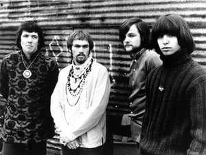 Rock group Iron Butterfly