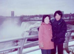 Niagara Falls, Thanksgiving Day, 1982