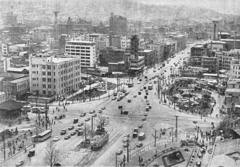 서울 세종로 네거리, 1964