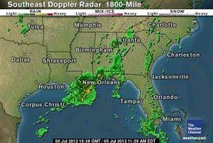 Monsoonal Atlanta