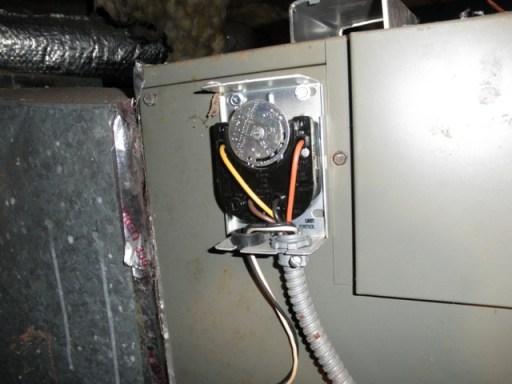 Honeywell Fan limit switch
