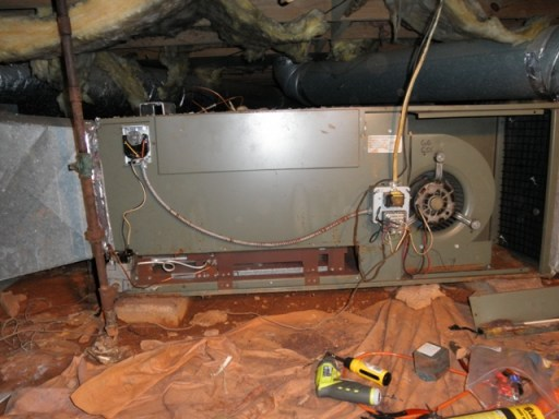 30+ year old clunker furnace