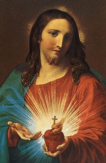 Sacred Heart of Jesus by Pompeo Batoni, 1767