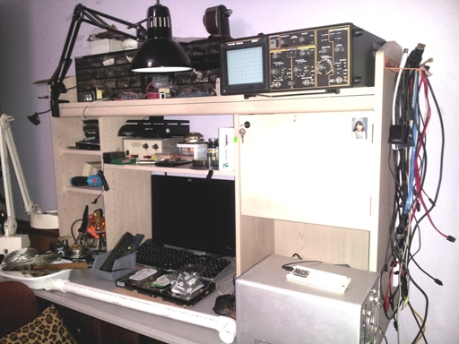 poor man's personal electronics work bench