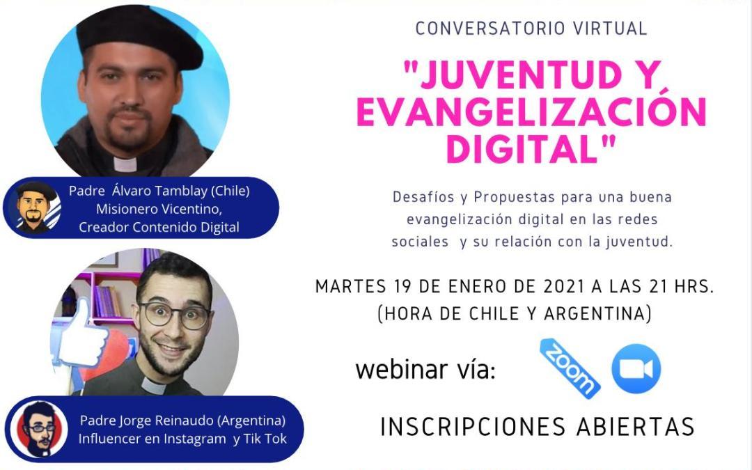 Encuentro virtual: «Juventud y evangelización digital»
