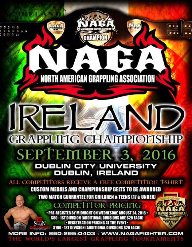 Cztery medale z irlandzkiej NAGI