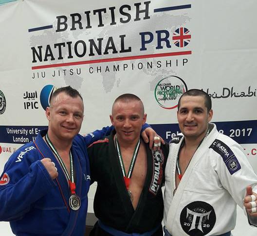 Kęska ze złotym medalem British National PRO 2017