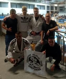 XIII Mistrzostwa Polski w brazylijskim jiu-jitsu - reprezentacja KS Serpentes
