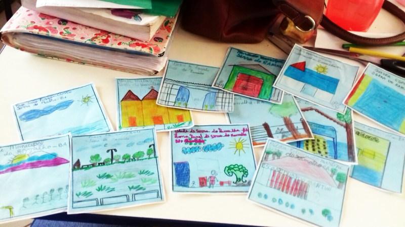 Estudantes Da Escola Eduardo Martini em Serra do Ramalho aprendem escrevendo cartas