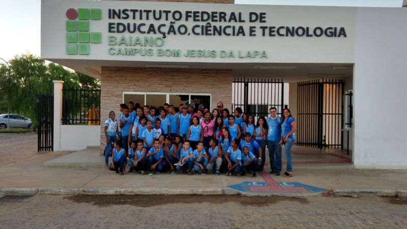 Escola Municipal Bartolomeu Guedes promove aula diferenciada no Instituto Federal Baiano