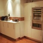 Muebles de cocina almacenamiento laca blanco mate