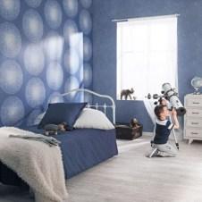 Papeles pintados dormitorios infantiles cielo y estrellas