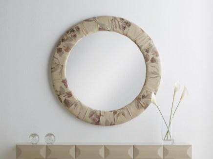 Espejo tapizado a medida