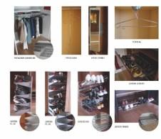 Accesorios para interiores de armario, zapateros
