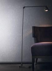Papel pintado brillos Placevendome Casamance