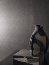 Papel pintados puntitos grises y platas Place Vendome Casamance