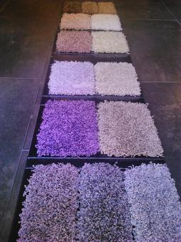 Muestrario colores alfombras a medida