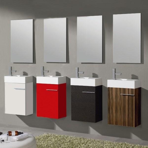 Muebles ba o colores para lavabos peque os reformas y - Lavabos para banos pequenos ...