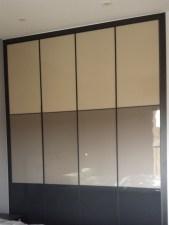 Frente armario empotrado plafones