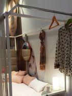 Feria de Zaragoza Cama para chicas cortinilla glamour