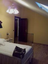 Antes. Dormitorio abuhardillado luz