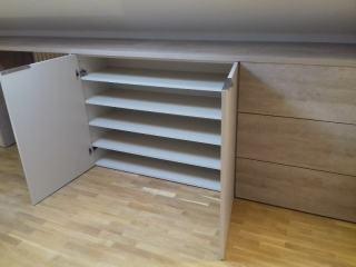 Zona baja, mueble a medida zapatero