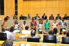 Sessão solene pelos 162 anos de Queimados - Foto Acessória Comunicação Dep. Professor Roberto Carlos