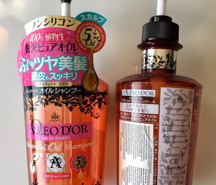 S Review:KOSÉ OLEO D'OR Shampoo 高絲歐莉朵洗髮精