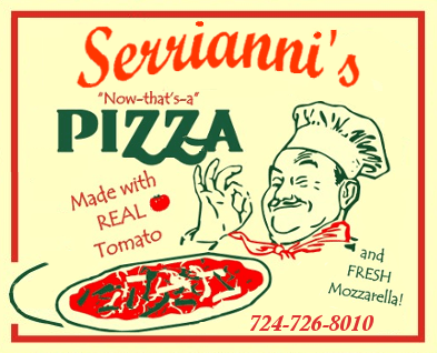 Serrianni's Pizza (724) 726-8010
